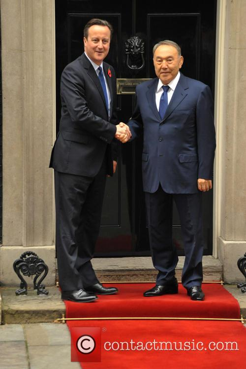 David Cameron and Nursultan Nazarbayev 4
