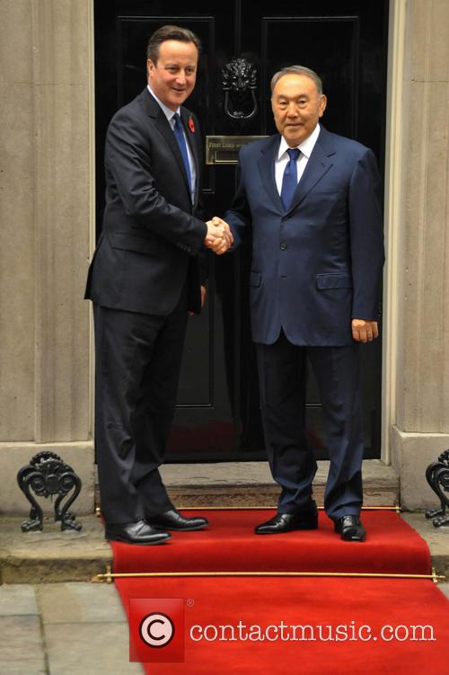 David Cameron and Nursultan Nazarbayev 5