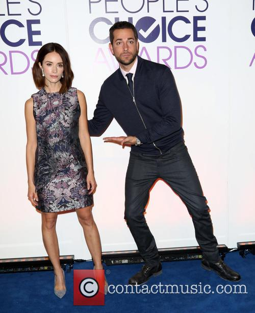 Abigail Spencer and Zachary Levi 5