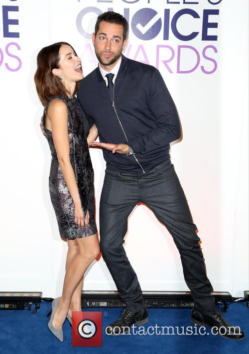 Abigail Spencer and Zachary Levi 7