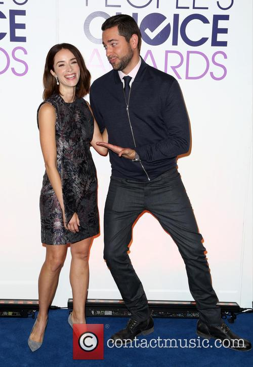 Abigail Spencer and Zachary Levi 8
