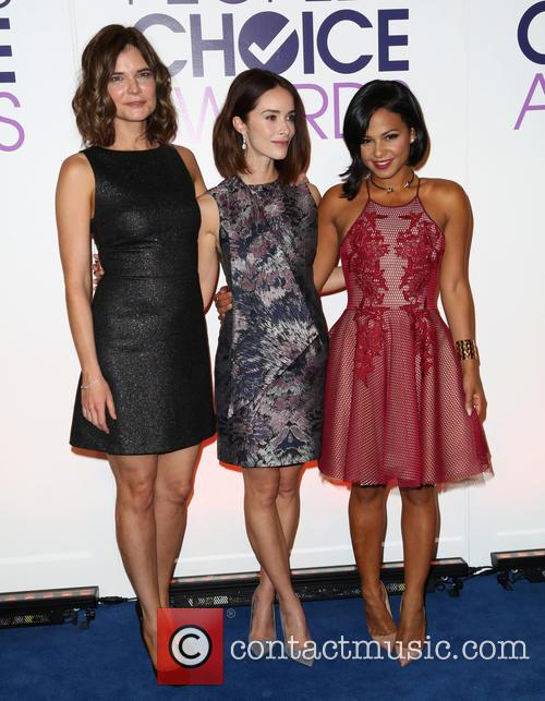 Betsy Brandt, Abigail Spencer and Cristina Milan 1
