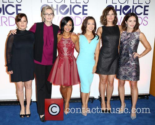 Marcia Gay Harden, Jane Lynch, Cristina Milan, Ming-na Wen, Betsy Brandt and Abigail Spencer 1