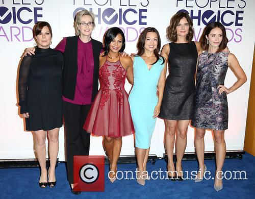 Marcia Gay Harden, Jane Lynch, Cristina Milan, Ming-na Wen, Betsy Brandt and Abigail Spencer 2