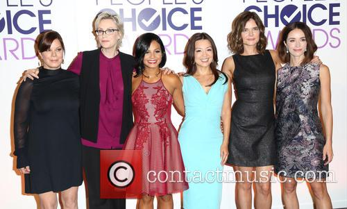 Marcia Gay Harden, Jane Lynch, Cristina Milan, Ming-na Wen, Betsy Brandt and Abigail Spencer 4