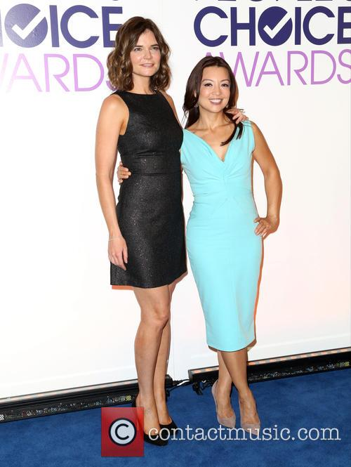 Betsy Brandt and Ming-na Wen 7