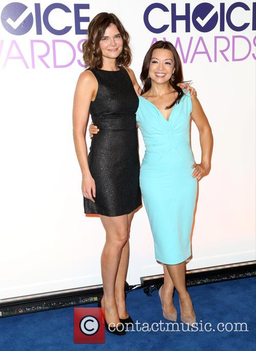Betsy Brandt and Ming-na Wen 8