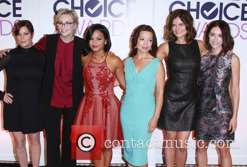 Marcia Gay Harden, Jane Lynch, Christina Milian, Ming-na Wen, Betsy Brandt and Abigail Spencer 1