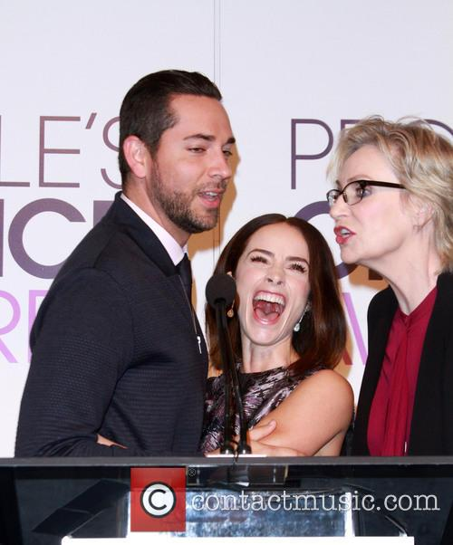 Zachary Levi, Abigail Spencer and Jane Lynch 11