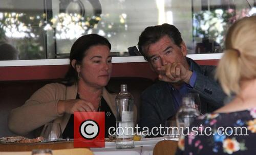 Pierce Brosnan and Keely Shaye Smith 3
