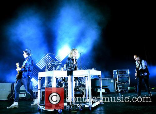 James Shaw, Emily Haines, Joules Scott Key, Joshua Winstead and Metric 4