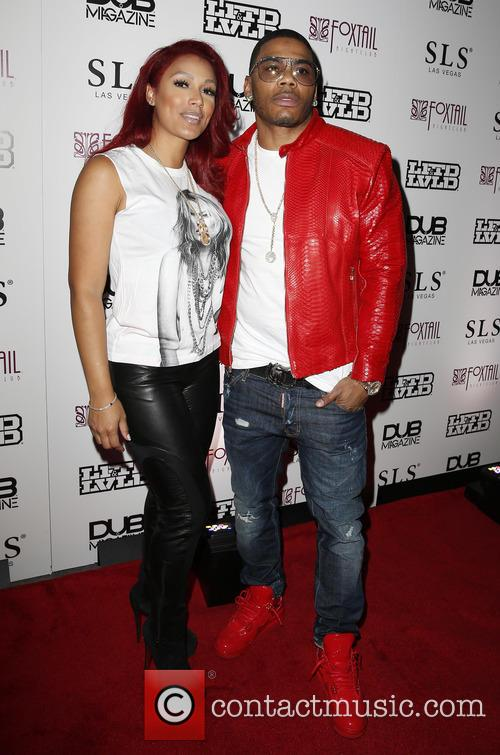 Shantel Jackson and Nelly 1