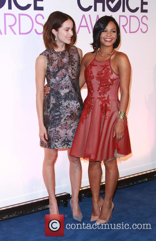 Abigail Spencer and Christina Milian 5