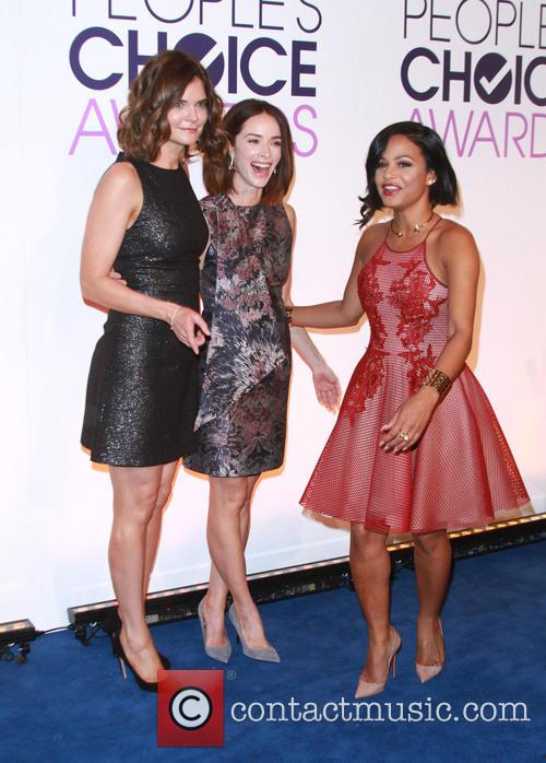 Betsy Brandt, Abigail Spencer and Christina Milian 6