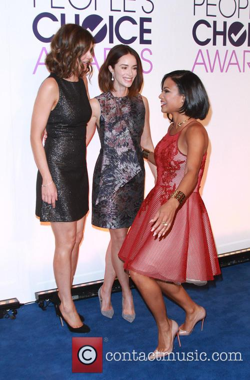 Betsy Brandt, Abigail Spencer and Christina Milian 7