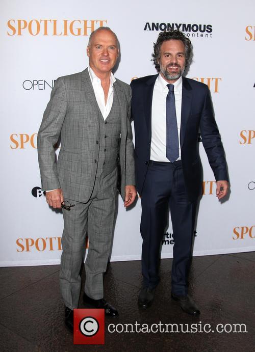 Michael Keaton and Mark Ruffalo 2