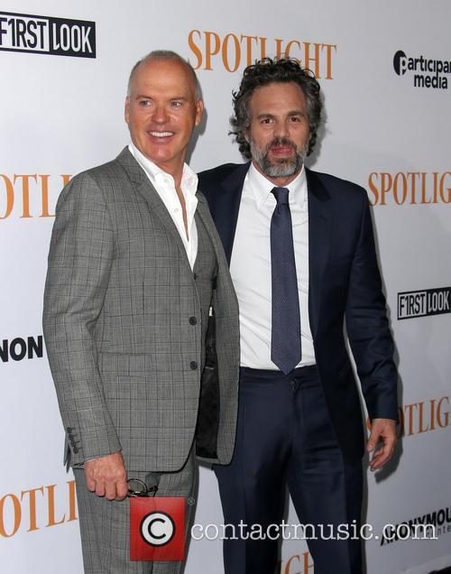 Michael Keaton and Mark Ruffalo 6