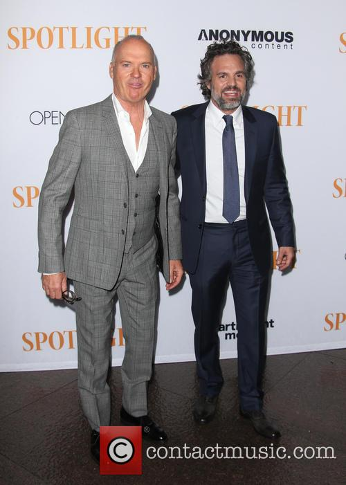Michael Keaton and Mark Ruffalo 7