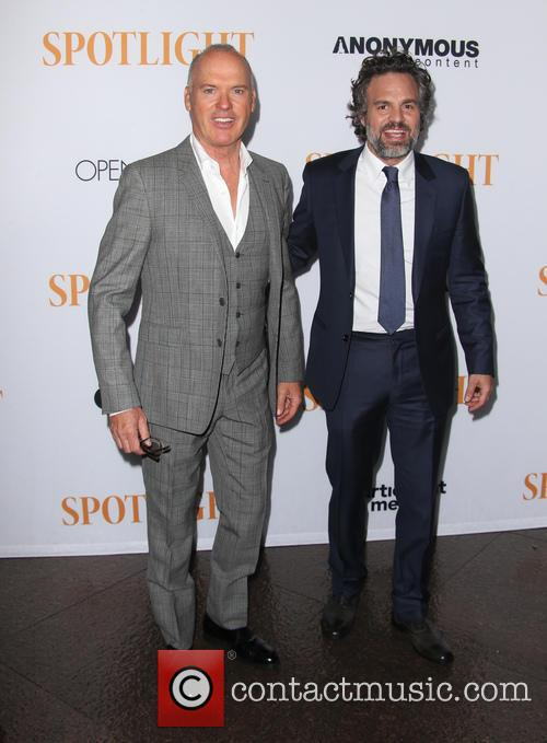 Michael Keaton and Mark Ruffalo 8