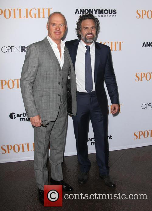 Michael Keaton and Mark Ruffalo 9