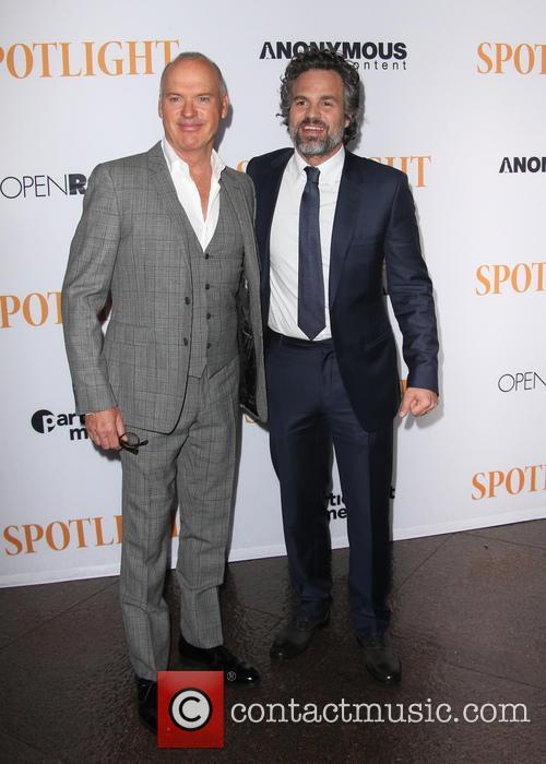 Michael Keaton and Mark Ruffalo 10