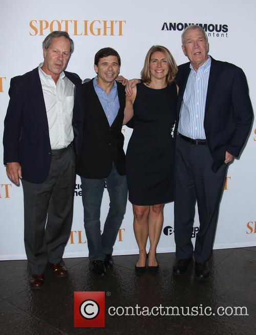 Ben Bradlee Jr., Michael Rezendes, Sacha Pfeiffer and Walter Robinson 3