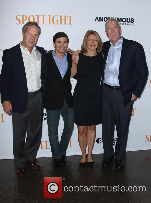 Ben Bradlee Jr., Michael Rezendes, Sacha Pfeiffer and Walter Robinson 4