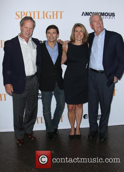 Ben Bradlee Jr., Michael Rezendes, Sacha Pfeiffer and Walter Robinson 8