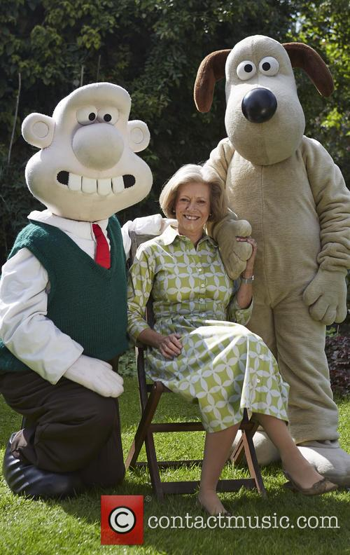 Kate Garraway, Fiona Cairns and Wallace & Gromit 2