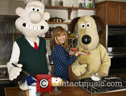 Kate Garraway and Wallace & Gromit 8