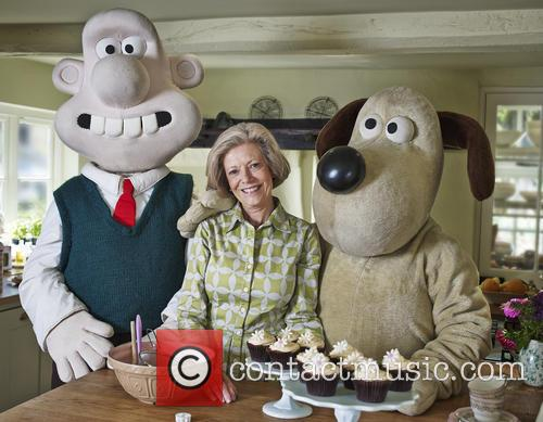 Kate Garraway, Fiona Cairns and Wallace & Gromit 9