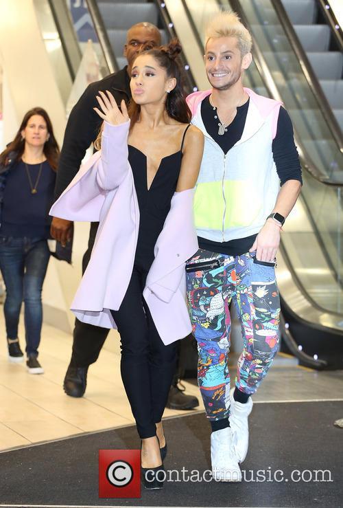 Ariana Grande and Frankie Grande 8