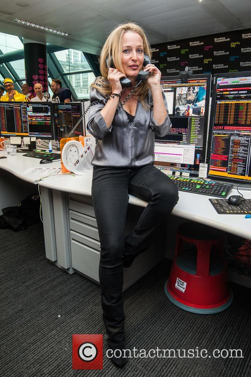 Gillian Anderson and Bloomberg 5