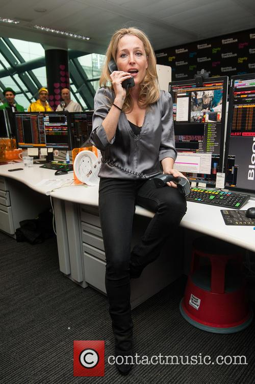Gillian Anderson and Bloomberg 7