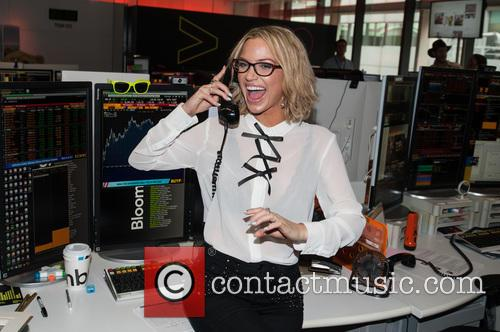 Sarah Harding and Bloomberg 10
