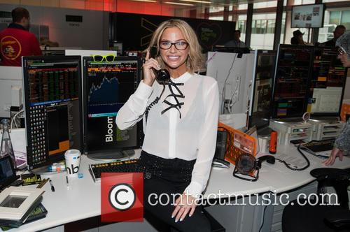 Sarah Harding and Bloomberg 11