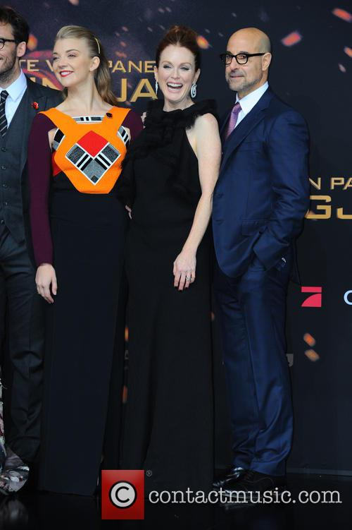 Natalie Dormer, Julianne Moore and Stanley Tucci 11