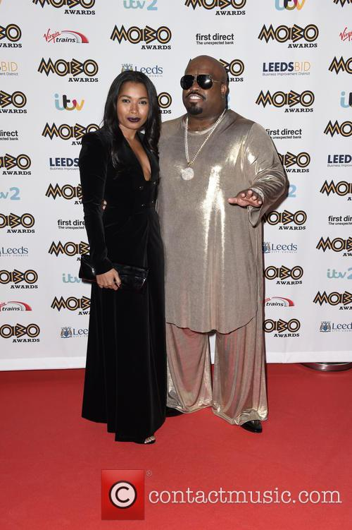 Ceelo Green and Shani James 2