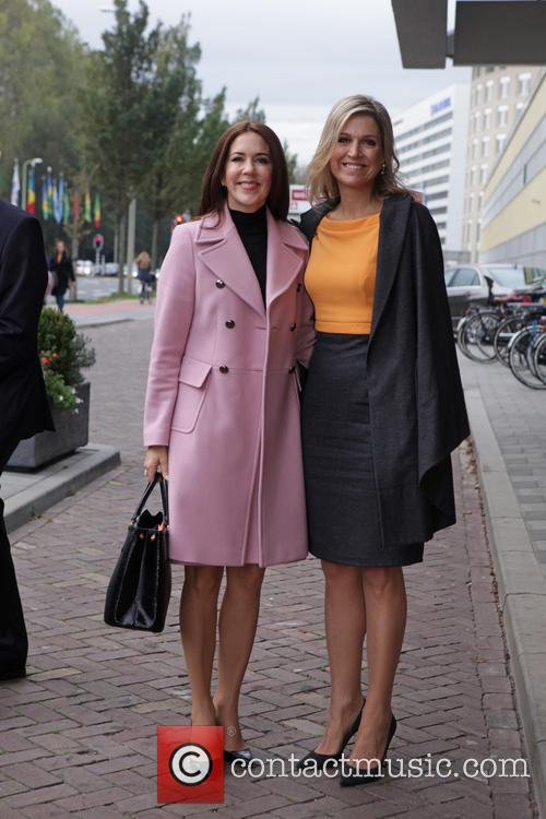 Queen Maxima Of The Netherlands and Crown Princess Mary Of Denmark 2