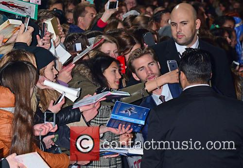 Liam Hemsworth and Fans 1