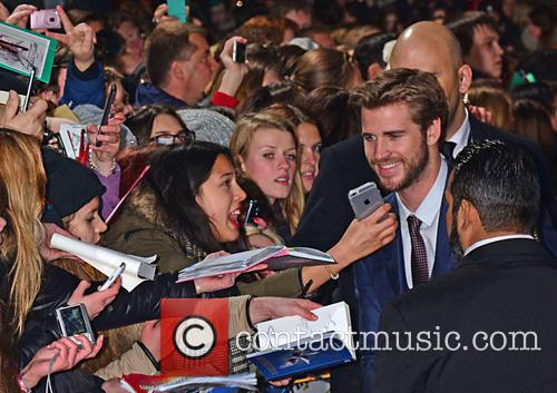 Liam Hemsworth and Fans 2