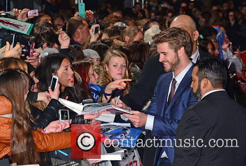 Liam Hemsworth and Fans 3
