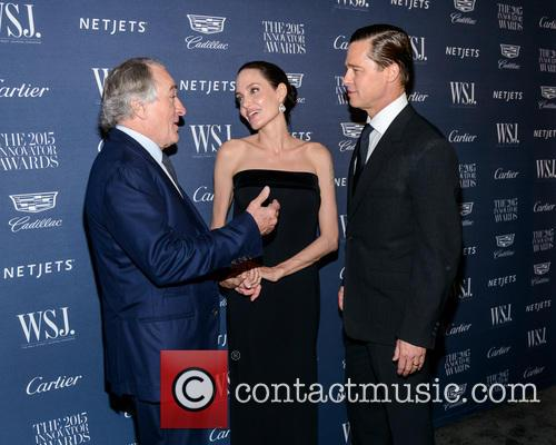 Robert De Niro, Angelina Jolie and Brad Pitt 2