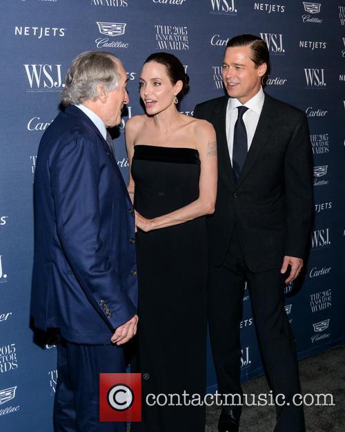 Robert De Niro, Angelina Jolie and Brad Pitt 3