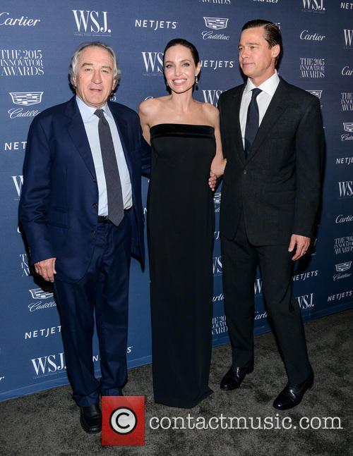 Robert De Niro, Angelina Jolie and Brad Pitt 4