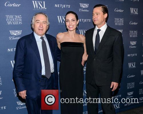 Robert De Niro, Angelina Jolie and Brad Pitt 5