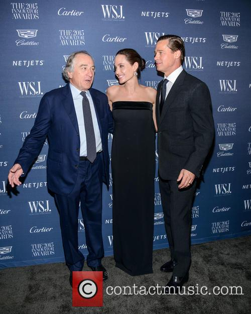 Robert De Niro, Angelina Jolie and Brad Pitt 6