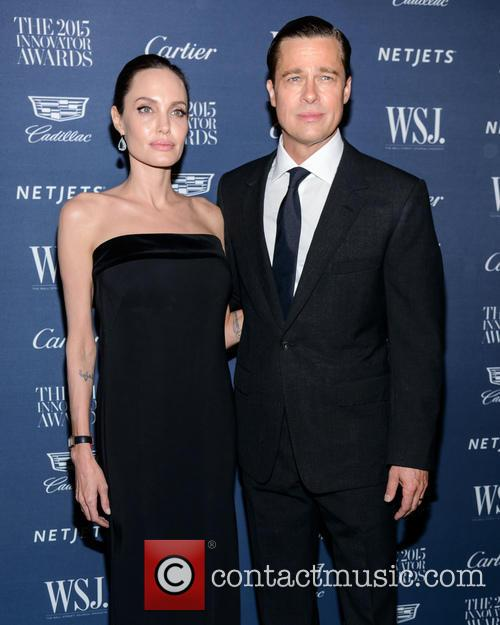 Angelina Jolie and Brad Pitt 8