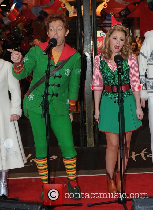 Kimberley Walsh and Ben Forster 4
