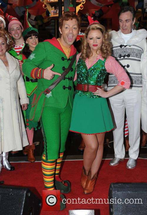 Kimberley Walsh and Ben Forster 5